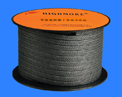 PTFE graphite fiber braided packing